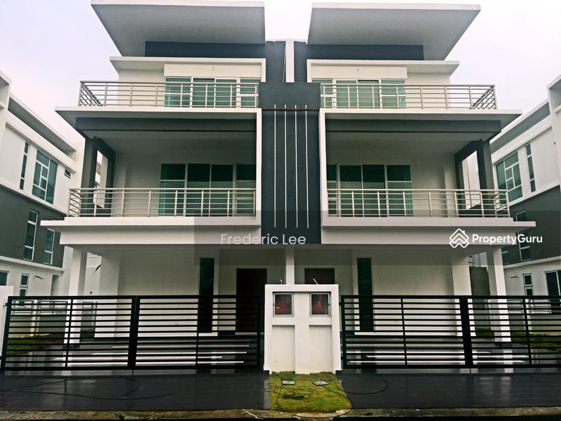 3 storey cluster house kiara 2 height height 5 x