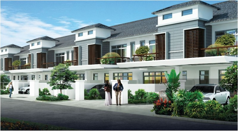 New Double Storey 4 Rooms 3 Bath Bukit Jelutong Ara