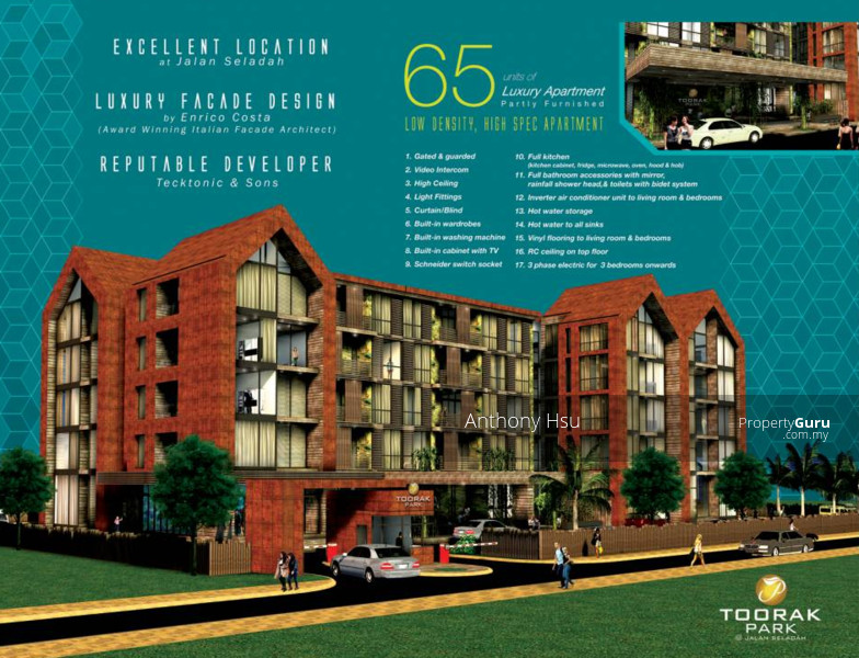 New Luxury Apartments At Toorak Park Jalan Seladah 107031509