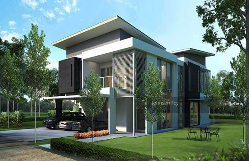 New luxury bungalow house kajang semenyik kajang for Modern bungalow design concept