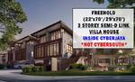[Not CyberSouth] 3 Storey Semi-D Link Terrace House in Cyberjaya - NEW LAUNCH