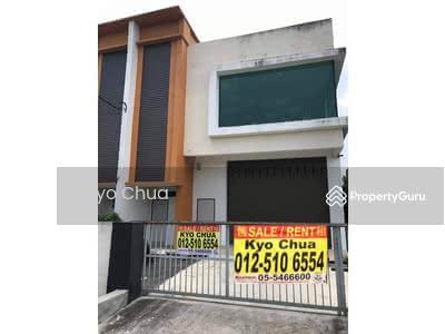Dijual - 1 1/2 storey semi d factory for sale in Pengkalan Ipoh
