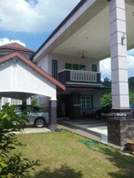 Two Storey Bungalow House Design: Bungalow Double Storey House, Taman Lavender Heights