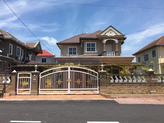 2 storey bungalow house for sale taman desa sinaran for 2 storey house for sale