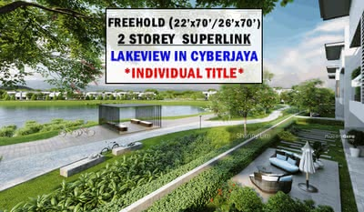 For Sale - [INDIVIDUAL TITLE] Freehold with LakeView Terrace