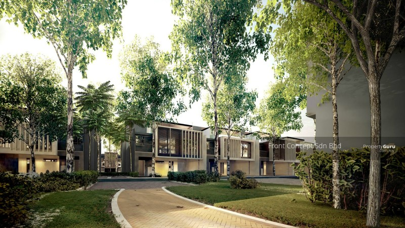Senibong Cove - Courtyard Homes | Type C / Ca / Cb / Cc, Persiaran ...