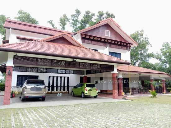 2 storey bungalow corner taman bukit jaya ampang for Two storey bungalow