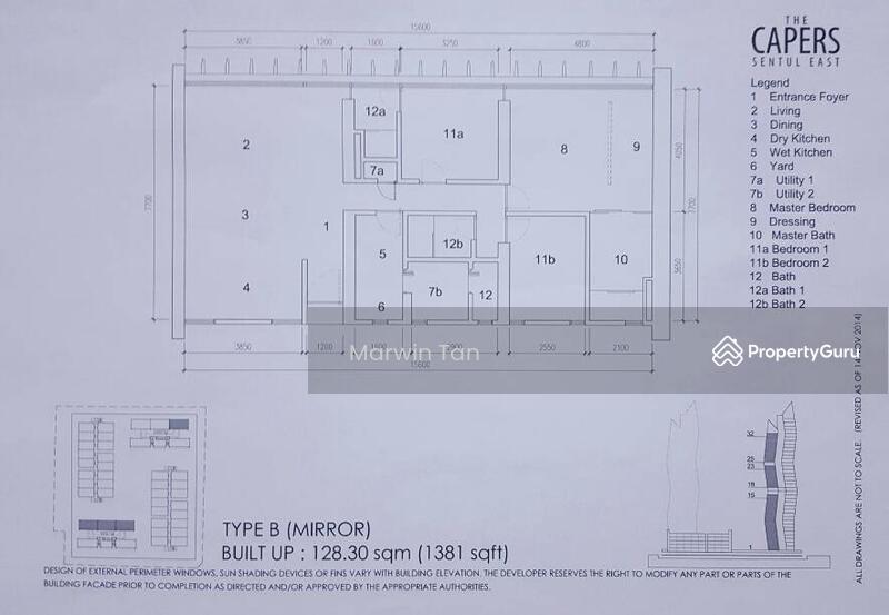 The Capers At Sentul East Jalan Sentul Sejahtera Sentul Kuala Lumpur 3 Bedrooms 1381 Sqft Apartments Condos Service Residences For Sale By Marvin Tan Rm 885 000 27169319