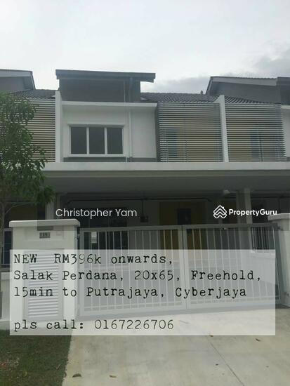 Zero down pymt terrace house at salak tinggi near for 0 down homes