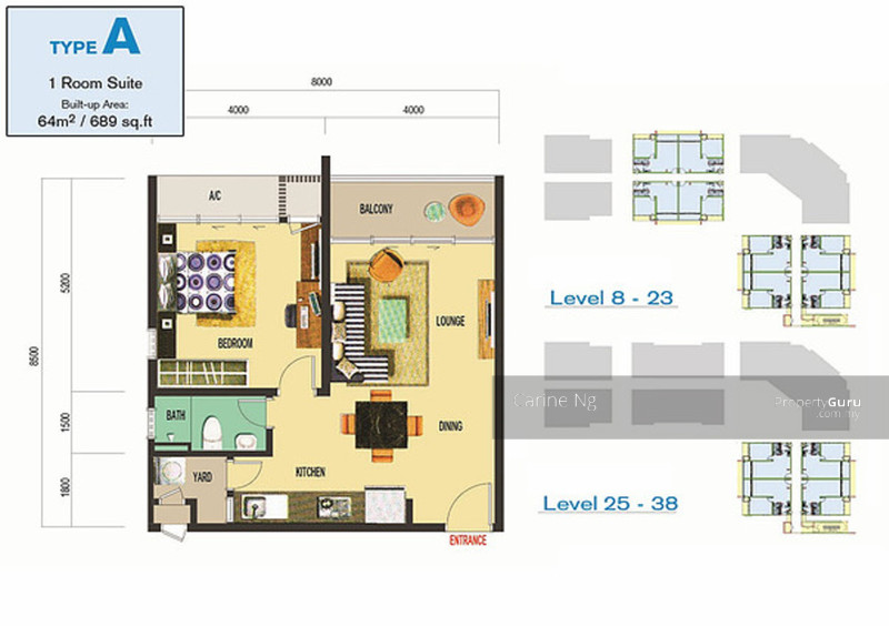 Atlantis residences kota laksamana jalan kota laksamana for Atlantis homes floor plans