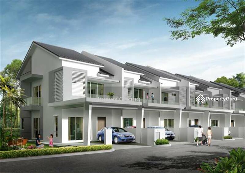 Rumah Teres Setingkat Dua Tingkat Bandar Mahkota Banting 20x70 Freehold Jenjarom Dengkil 118428011