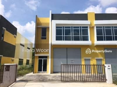 For Rent - SEMI D Factory Perindustrian Taman Tasik Utama Ayer Keroh Melaka