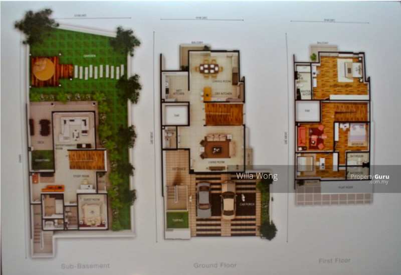 Bayu Damansara @ 3-Storey Semi-Detached Homes #126585493