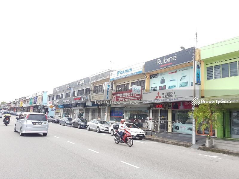 2 storey shop,taman johor jaya #127640381