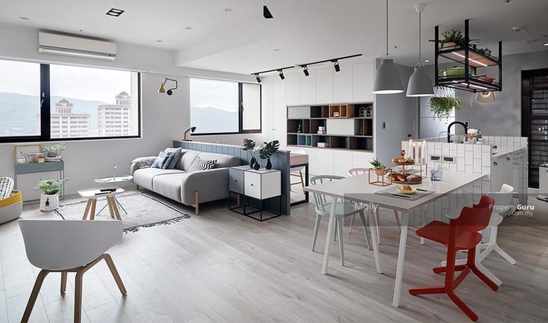 Semi d layout ] luxury new township penthouse freehold mont kiara