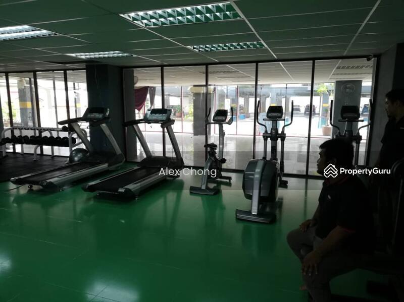 Below rm k furnished kepong sentral condo low floor for rent