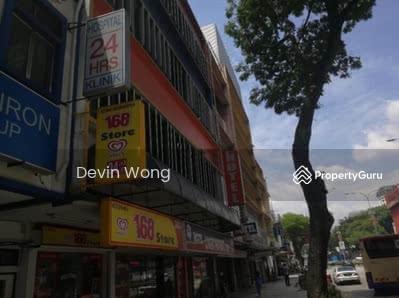 For Sale - 2 Adjoining 4 Storey Shoplot Jalan Sultan Azlan Shah; Jalan Ipoh; Jalan Raja Laut