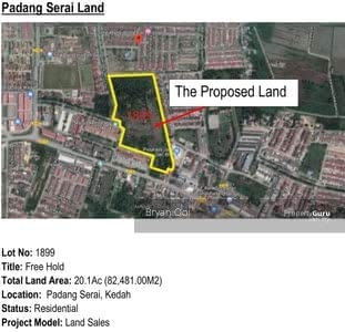 For Sale - Land Kulim Padang Serai for sale