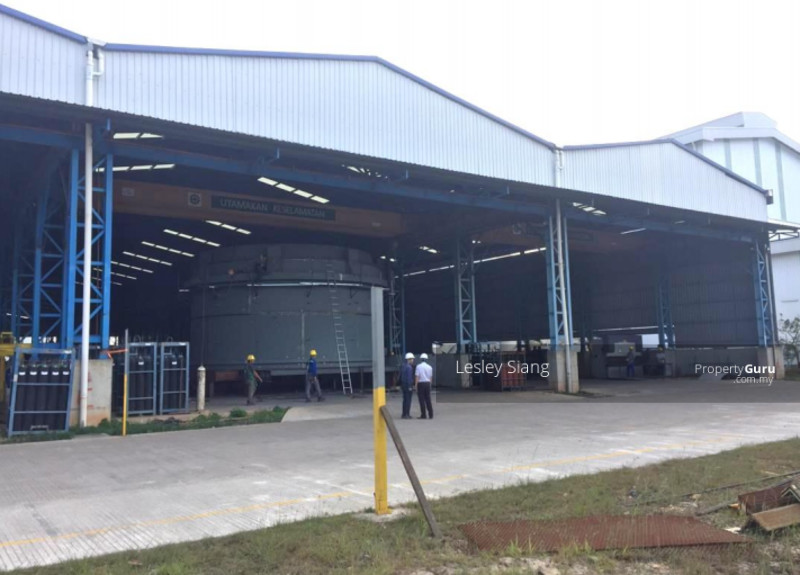 Detached Factory with 6 units Overhead Crane (BUA: 104k @ RM172psf)