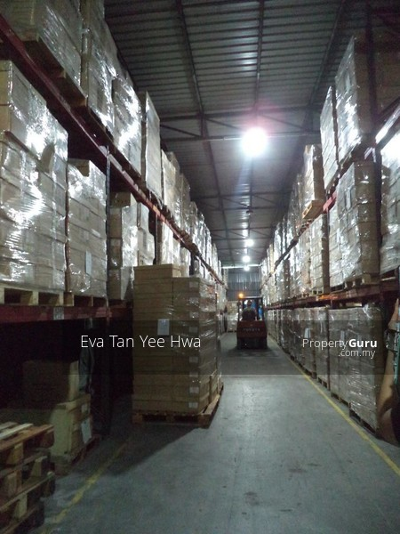 Ulu Tiram 300 Amp Single Storey Detached Warehouse with an Annexed Double Storey Office for Sale #135316203