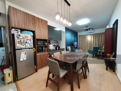 For Sale - SURIA RESIDENCE, BUKIT JELUTONG_GOOD INVESTMENT_800SQFT_FULLY FURNISH