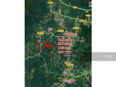 For Sale - 25 Points Commercial Land (999 Title) at Sg Tengah Kuching