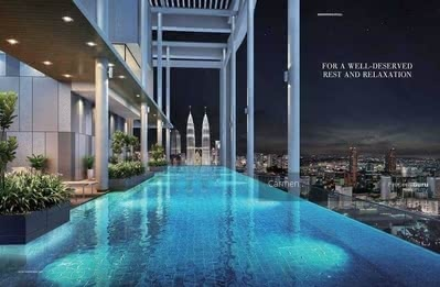 For Sale - TAMAN DESA @ NEW LAUNCH KL FULLY FURNiSHED SKY SUITE CONDO