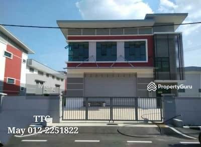 For Sale - Taman Teknologi Cheng , Malim Krubong 1 1/2 Storey  Semi  Detected Factory