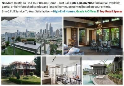 For Rent - Bungalows / Semi-D @ Damansara Heights, Mont Kiara, Desa Sri Hartamas, Bangsar, Tropicana, PJ & KL