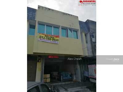 For Sale - Double Storey Shophouse At Station 18, Ipoh