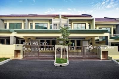 For Sale - 2-storey terrace with 5 bedrooms & 5 bathrooms. Zero Downpayment @ Nusa Intan