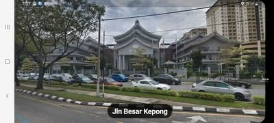 For Sale - 42, 055 ft2 resident land, for high rise building,  kepong