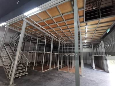 For Rent - Shamelin Semi Detached 3 Storey Factory with Racking System