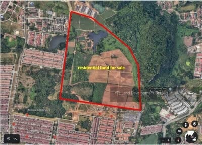 For Sale - Prime Residential Land at Pakatan Jaya Ipoh for Sale
