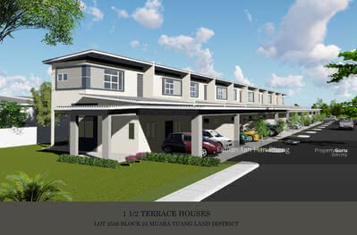For Sale - New One and Half Storey Terrace at Stakan Dahlia (Jalan Stakan)