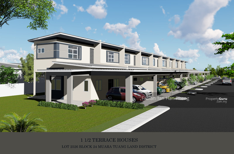 Artist Impression of the One and Half Storey Terrace at Stakan Dahlia