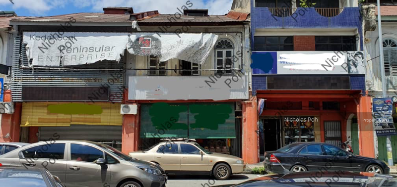 Ipoh Old Town Shop Tourist Spot #149380411