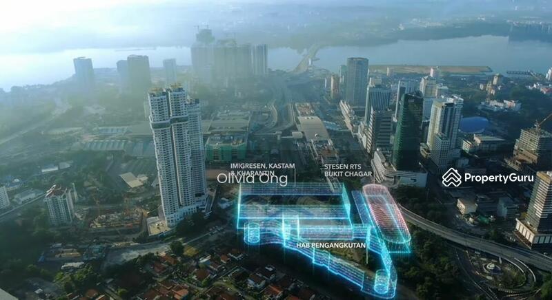 Twin Tower Freehold @ Bukit Chagar JB Nearest CIQ 3mins walking distance #167323079