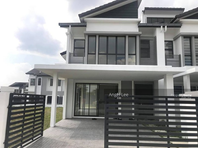 Cyberjaya Double Storey superlink 35x90 special limited extra land 10ft #150958977