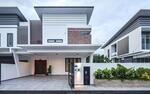 Cyberjaya Double Storey link house nr highway mex 0% downpayment