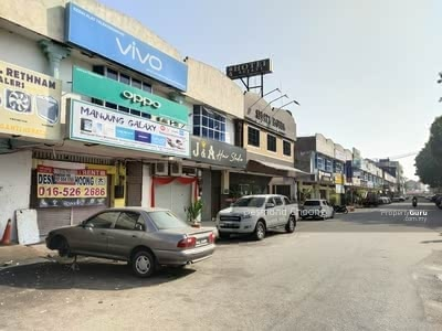 For Sale - facing main road, sitiawan near tesco and opposite econsave