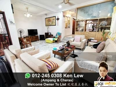 For Sale - Taman Pertama End Lot with Land