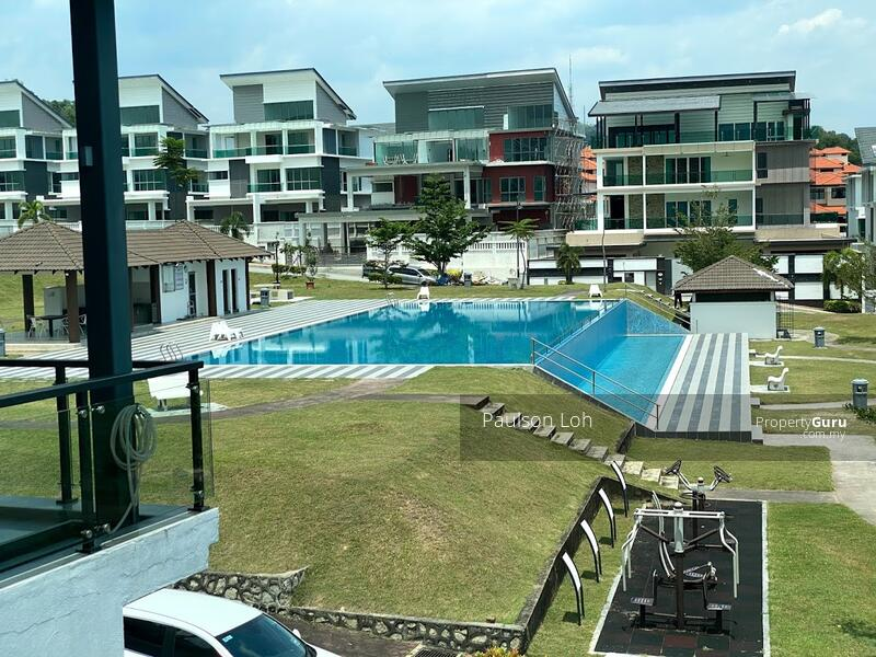 Cheras Hilltop Semi Detached house for Sale, with swimming pool #153818789