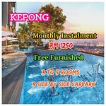 Kepong Luxury Sky SemiD Residence Near MRT2 KTM Shopping Mall