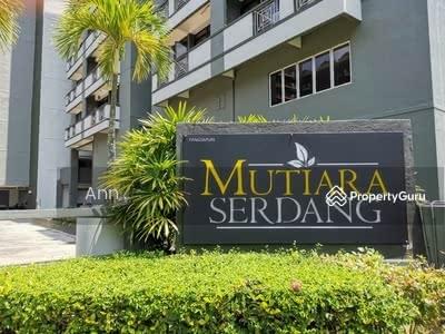 For Sale - FREE ALL FEE ! ! 100% Loan ! ! KLCC View CORNER UNITMutiara Serdang LRT