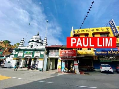 For Sale - HERITAGE HOUSE AT LEBUH CHULIA POPULAR LOCATION FACING MAIN ROAD