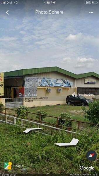 1.5 storey factory to let in Kawasan Perindustrian  Sri Rapat ,Song Choon area ,Ipoh #154797309
