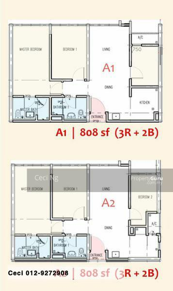 The Maple Residences, Taman OUG #154852921