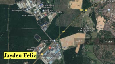 For Sale - Kulim Perindustrian land 0. 65 acre for sale