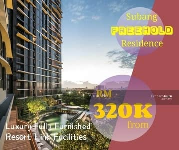 Dijual - Freehold Cheapest Investment Fully Furnished Condo In Subang